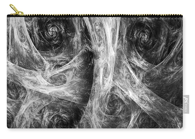 Conscience Carry-all Pouch featuring the digital art Conscience 02 by RochVanh
