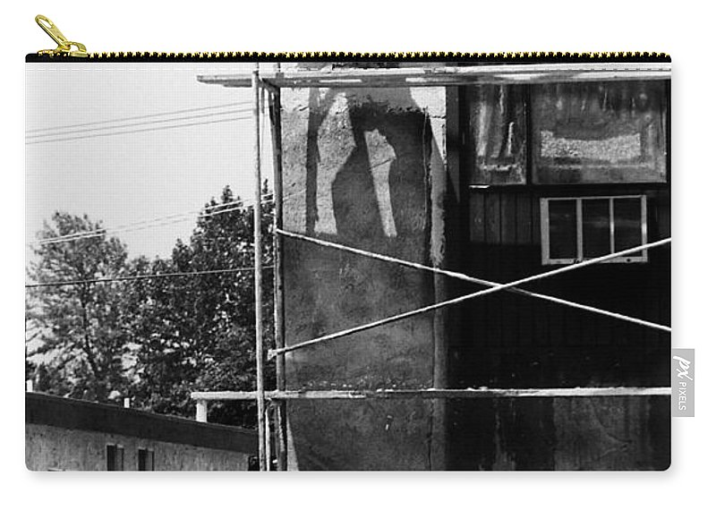 People Carry-all Pouch featuring the photograph Construction Workers by Karl Rose
