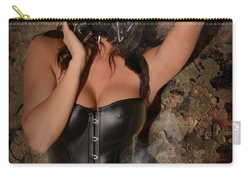 Woman Carry-all Pouch featuring the photograph Contamination by Jt PhotoDesign