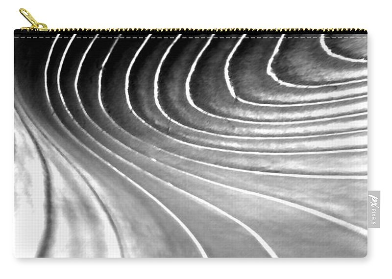 Light Carry-all Pouch featuring the digital art Contours 9 by Wendy Wilton
