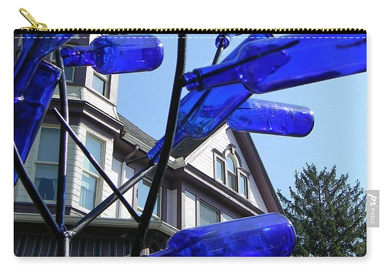 Victorian House Carry-all Pouch featuring the photograph Contrast by Jean Goodwin Brooks