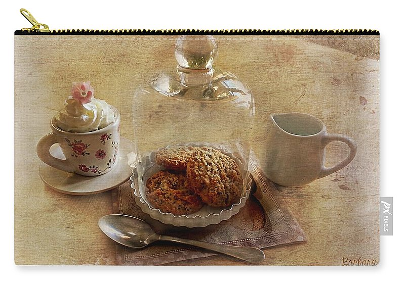 Cookies Carry-all Pouch featuring the photograph Cookies Gourmandises by Barbara Orenya