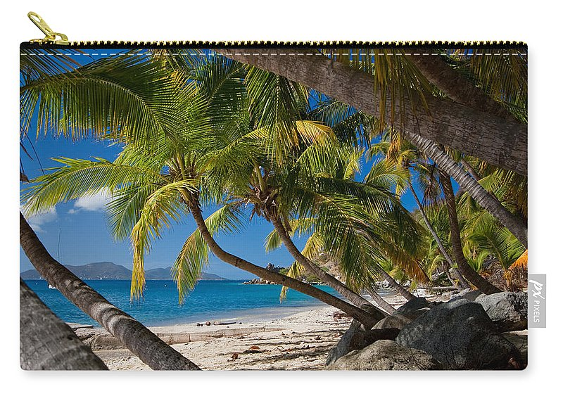 3scape Carry-all Pouch featuring the photograph Cooper Island by Adam Romanowicz