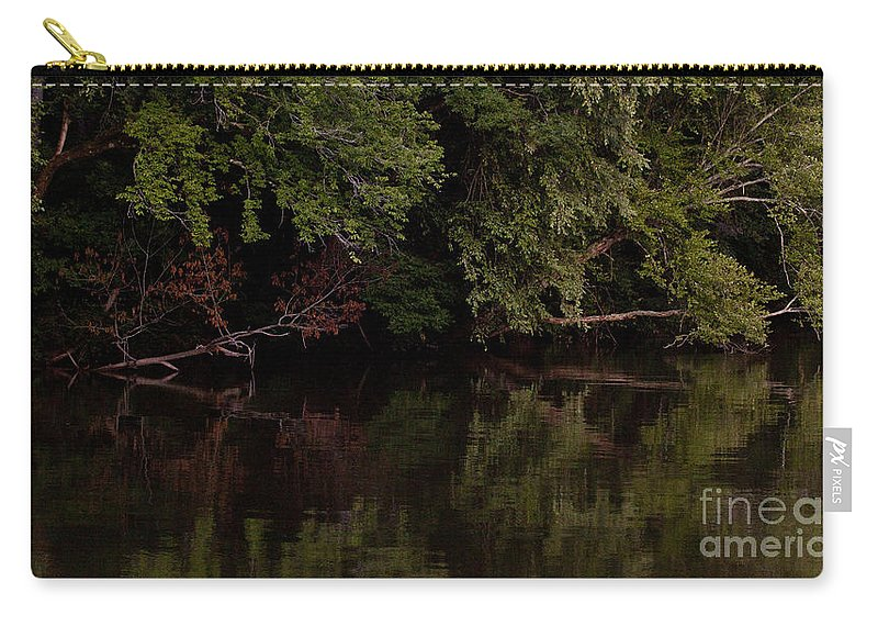 Coosa River Carry-all Pouch featuring the photograph Coosa River  Alabama  #9483 by J L Woody Wooden
