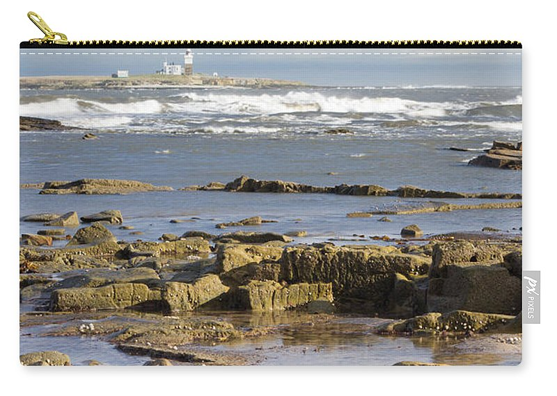 Northumberland Carry-all Pouch featuring the photograph Coquet Island by David Head