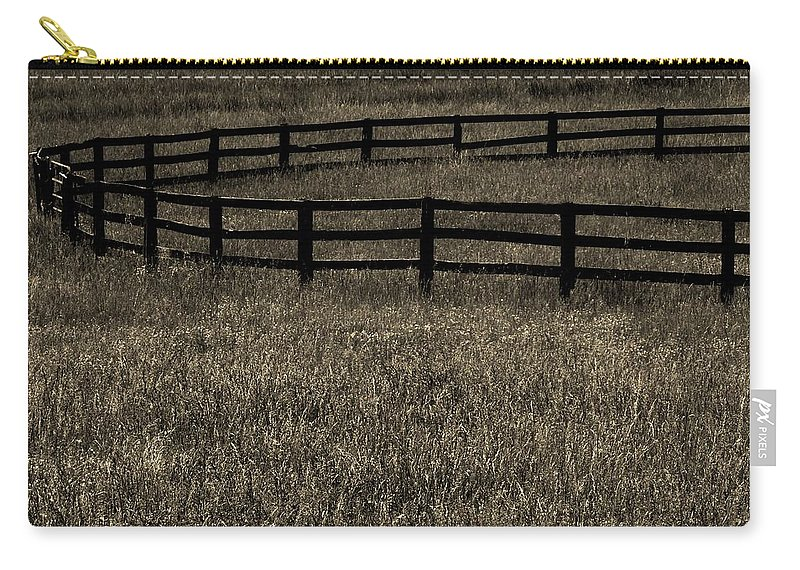 Corral Carry-all Pouch featuring the photograph Corral by Robert Geary