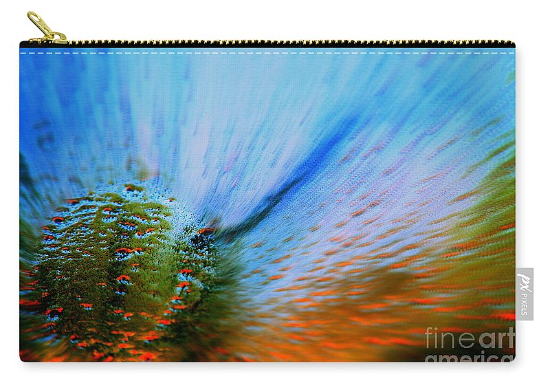 Cosmic Carry-all Pouch featuring the photograph Cosmic Series 006 - Under The Sea by Larry Ward