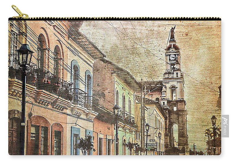 Julia Springer Carry-all Pouch featuring the photograph Cotacachi Morning by Julia Springer