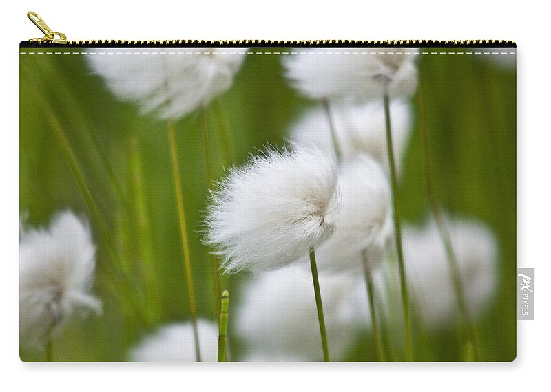 Heiko Carry-all Pouch featuring the photograph Cottonsedge by Heiko Koehrer-Wagner