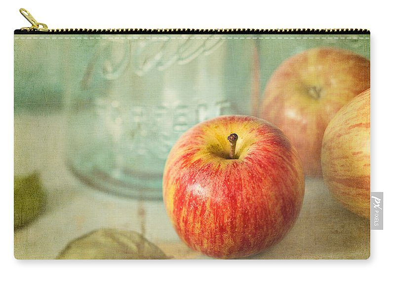 Apple Carry-all Pouch featuring the photograph Country Comfort by Amy Weiss