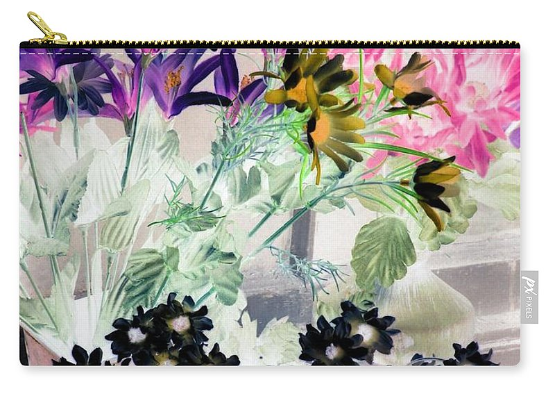 Flower Carry-all Pouch featuring the photograph Country Comfort - Photopower 528 by Pamela Critchlow