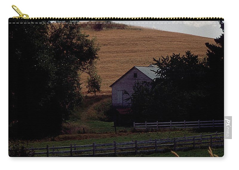 Windmill Carry-all Pouch featuring the photograph Country Peace by Sharon Elliott