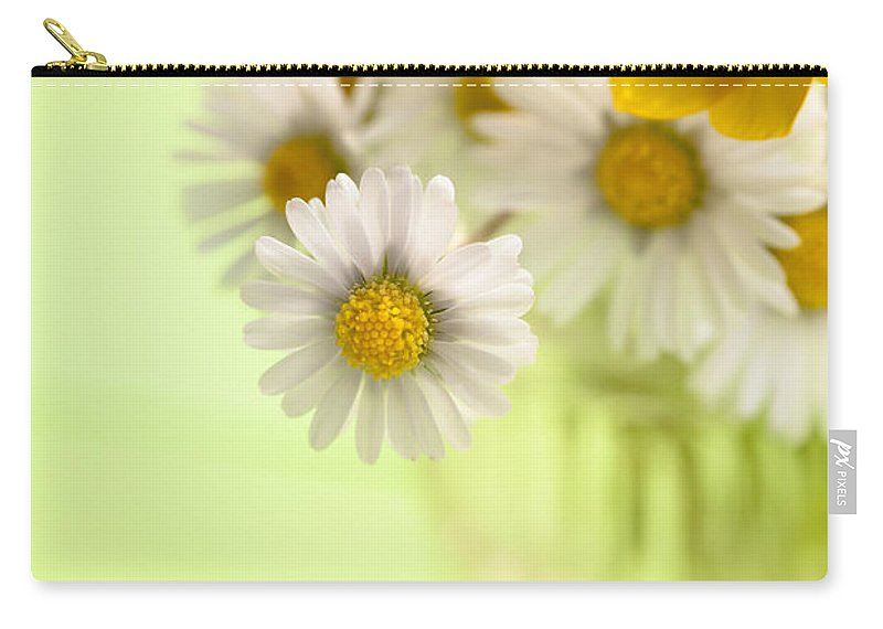 Flower Carry-all Pouch featuring the photograph Country Posy by Jan Bickerton