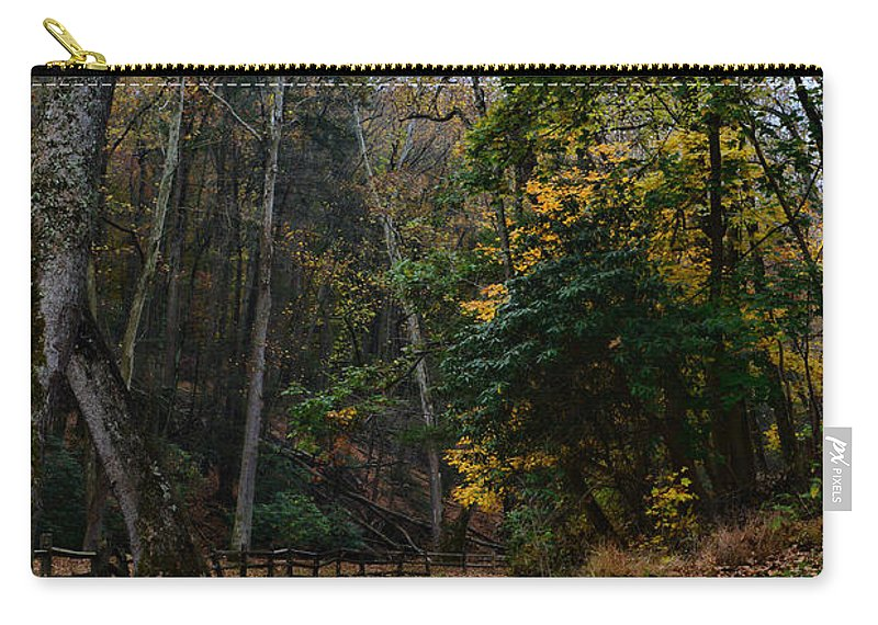 Paul Ward Carry-all Pouch featuring the photograph Country Road by Paul Ward