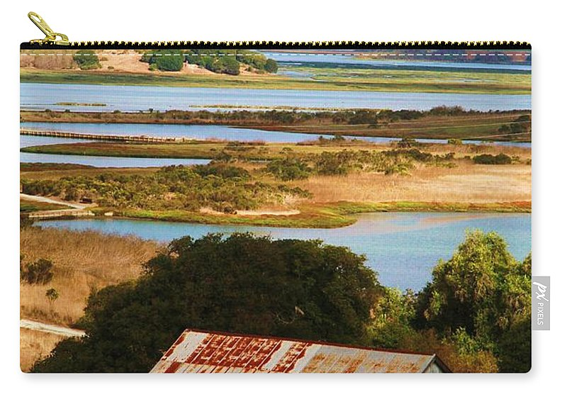 Moss Landing Barn Carry-all Pouch featuring the photograph Country Side by Marianne Jimenez