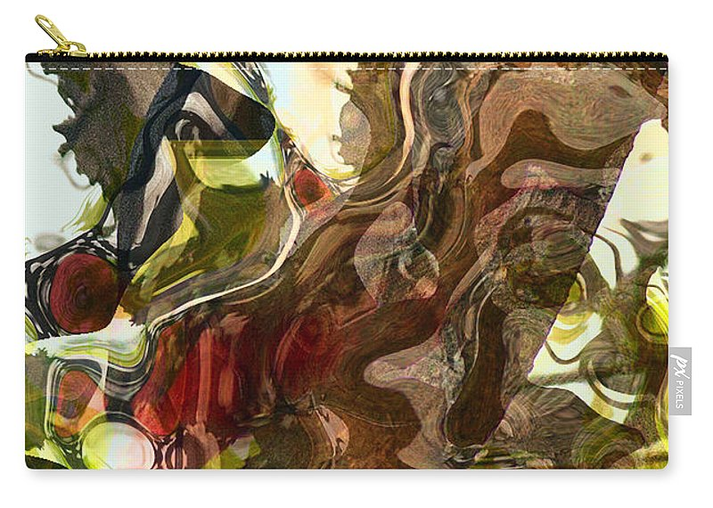 Abstract Carry-all Pouch featuring the photograph Countryside Creatures by Richard Thomas
