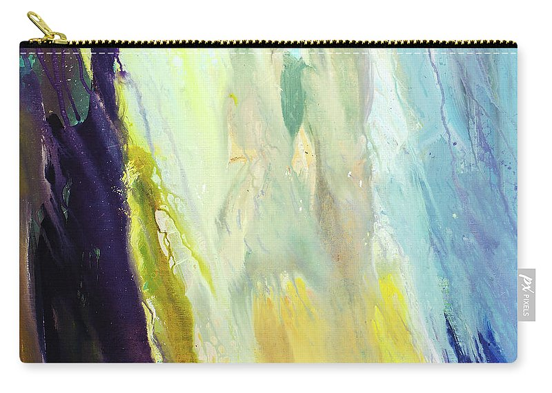 Art Carry-all Pouch featuring the digital art Couple by Balticboy