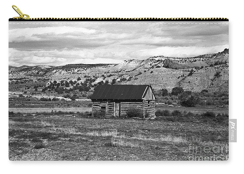 Utah Carry-all Pouch featuring the photograph Courage by Kathy McClure