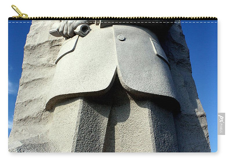 Martin Luther King Carry-all Pouch featuring the photograph Courage by Suzanne Stout