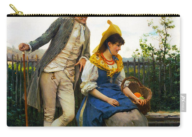 Courtship Carry-all Pouch featuring the photograph Courtship by Federico Andreotti