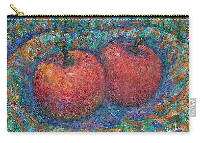 Kendall Kessler Carry-all Pouch featuring the painting Cozy by Kendall Kessler