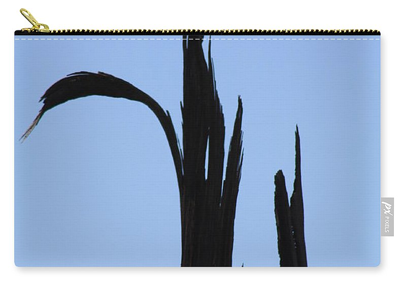 Crane Carry-all Pouch featuring the photograph Crane Wood by Brandi Maher