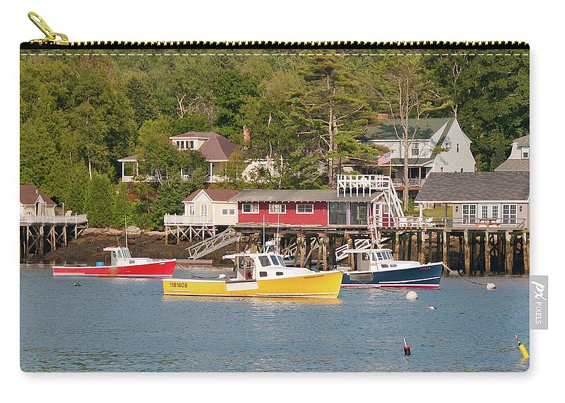 Boat Carry-all Pouch featuring the photograph Crayon Box 1381 by Guy Whiteley