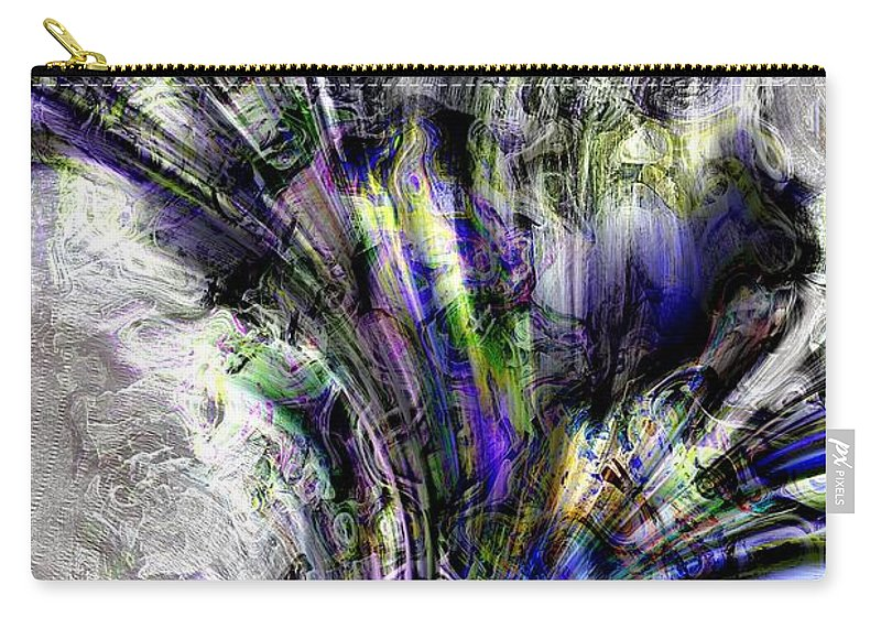 Abstract Carry-all Pouch featuring the photograph Creative Flow by Richard Thomas