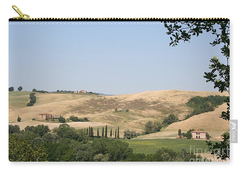Landscape Carry-all Pouch featuring the photograph Crete Senesi by Christiane Schulze Art And Photography