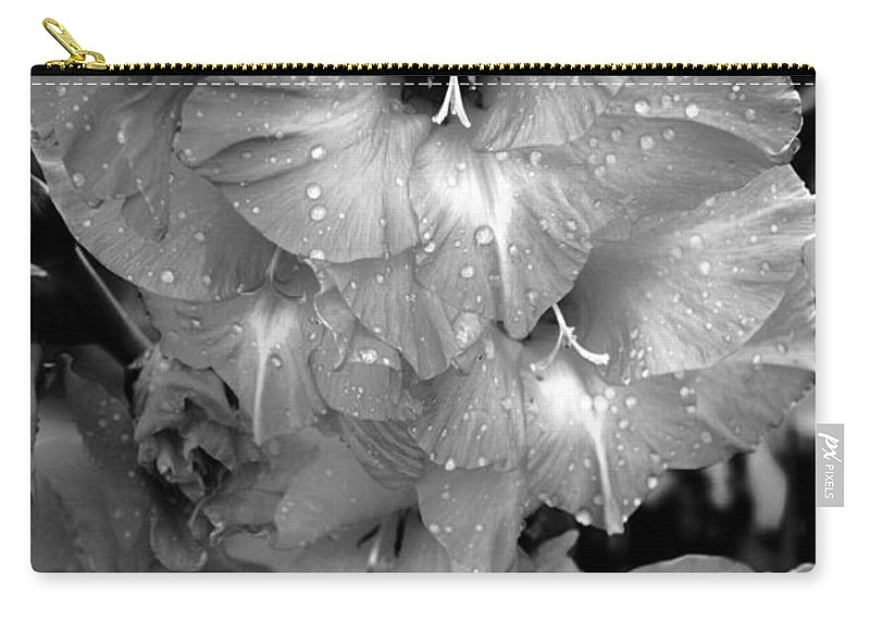 Sad Flower Carry-all Pouch featuring the photograph Cries by Marianne Jimenez
