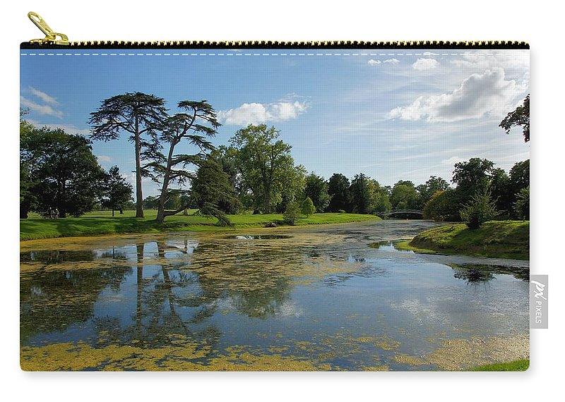 Lake Carry-all Pouch featuring the photograph Croome Park 82 by Ron Harpham