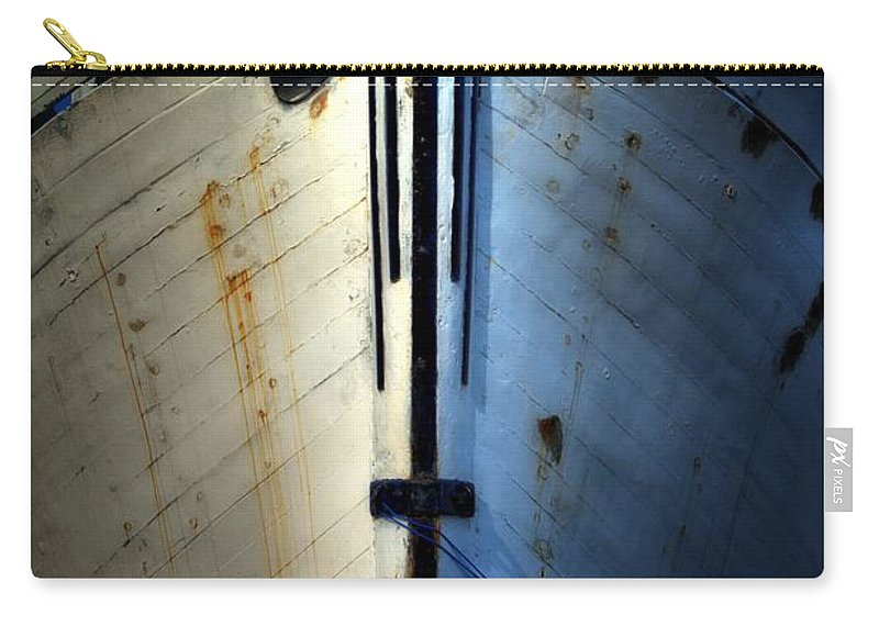 Abstract Carry-all Pouch featuring the photograph Cross Bow by Lauren Leigh Hunter Fine Art Photography