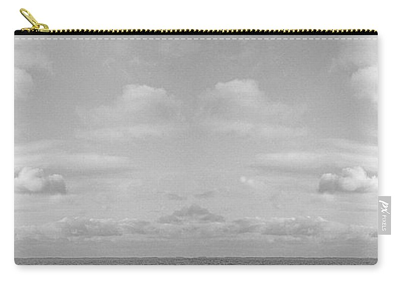 Sea Carry-all Pouch featuring the photograph Cross Of Life by Casper Cammeraat