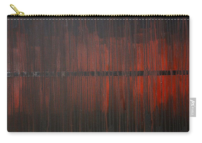Fantasy Carry-all Pouch featuring the painting Cross the Line by Sergey Bezhinets