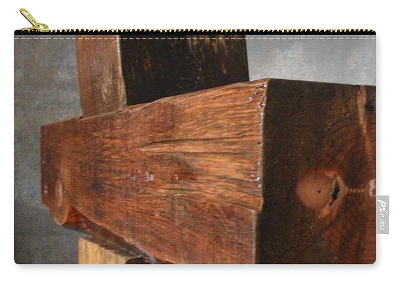 Crucificjo Carry-all Pouch featuring the photograph Crucifijo by Brian Boyle