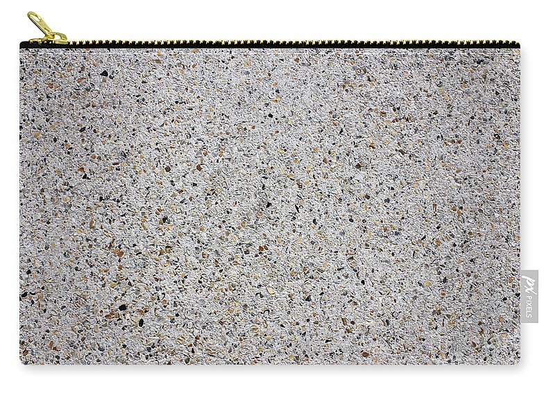 Crushed Carry-all Pouch featuring the photograph Crushed Shell Sidewalk by Lee Serenethos