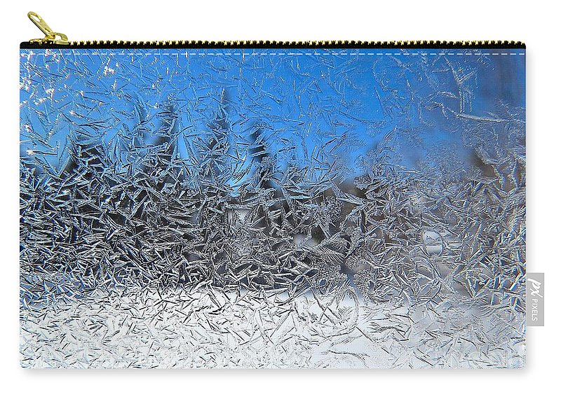Ice Carry-all Pouch featuring the photograph Crystal Dream by J L Kempster