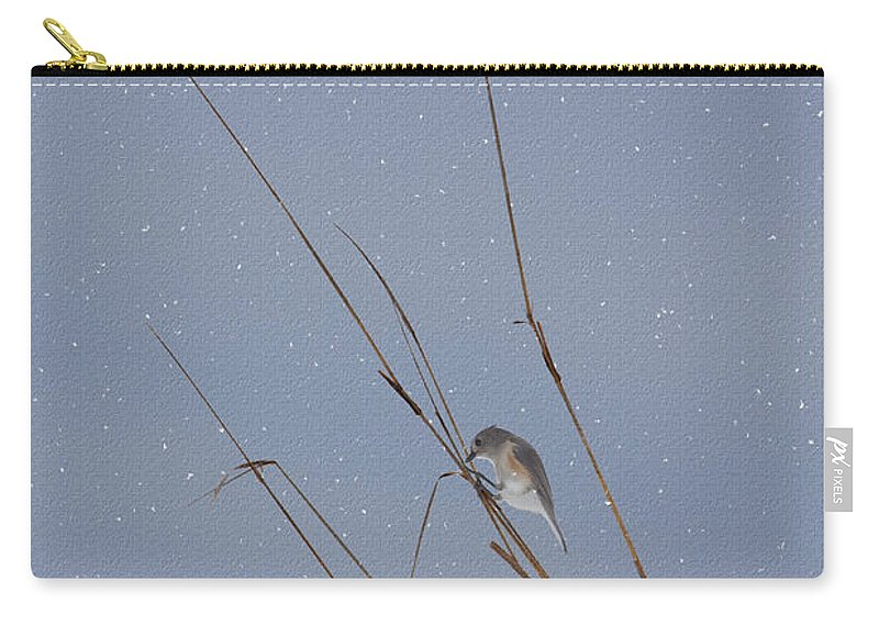 Ron Jones Carry-all Pouch featuring the photograph Crystal Mornings by Ron Jones