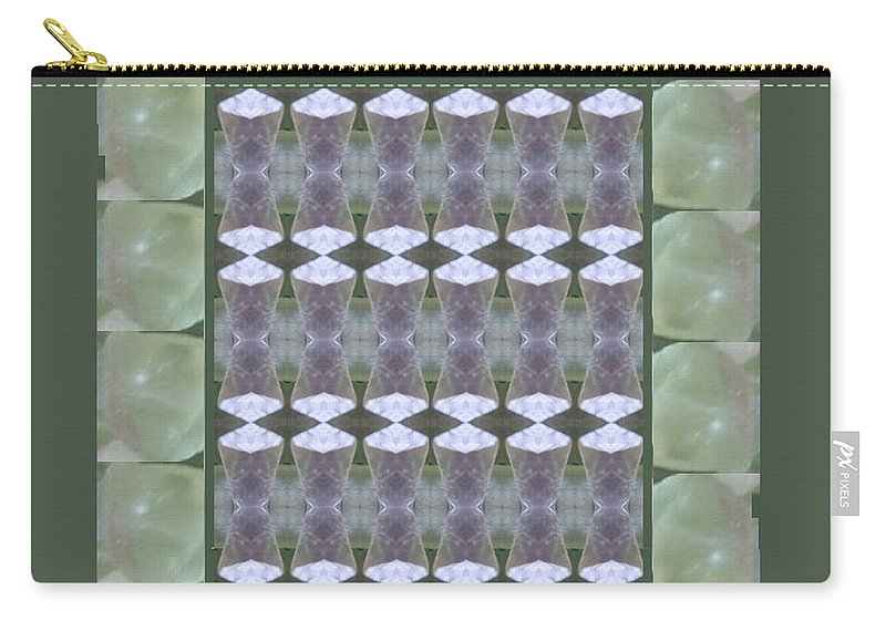 Crystal Carry-all Pouch featuring the painting Crystal Sparkle Showcasing Navinjoshi Gallery Art Icons Buy Faa Products Or Download For Self Printi by Navin Joshi