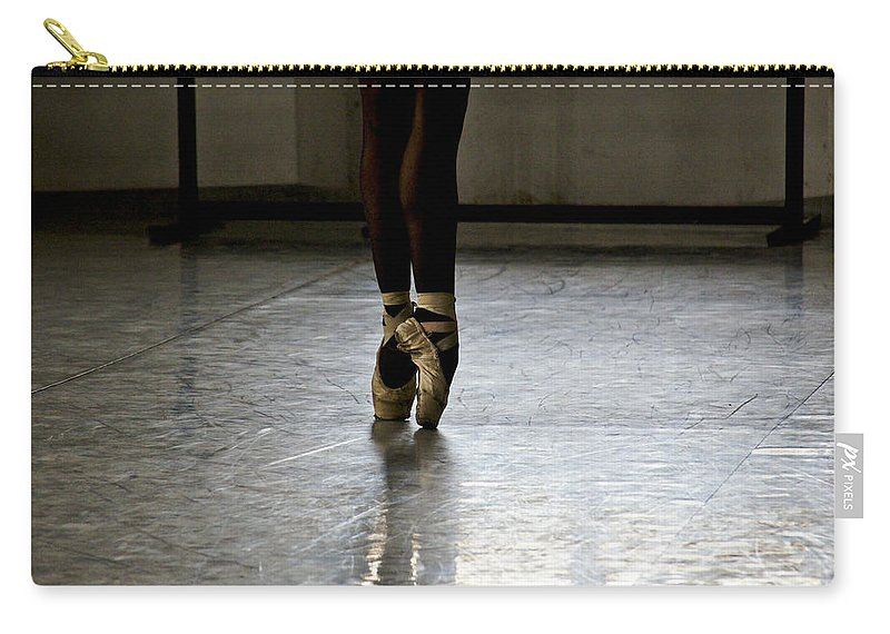 Ballet Carry-all Pouch featuring the photograph Cuban Ballet Dancer by Brian Kamprath