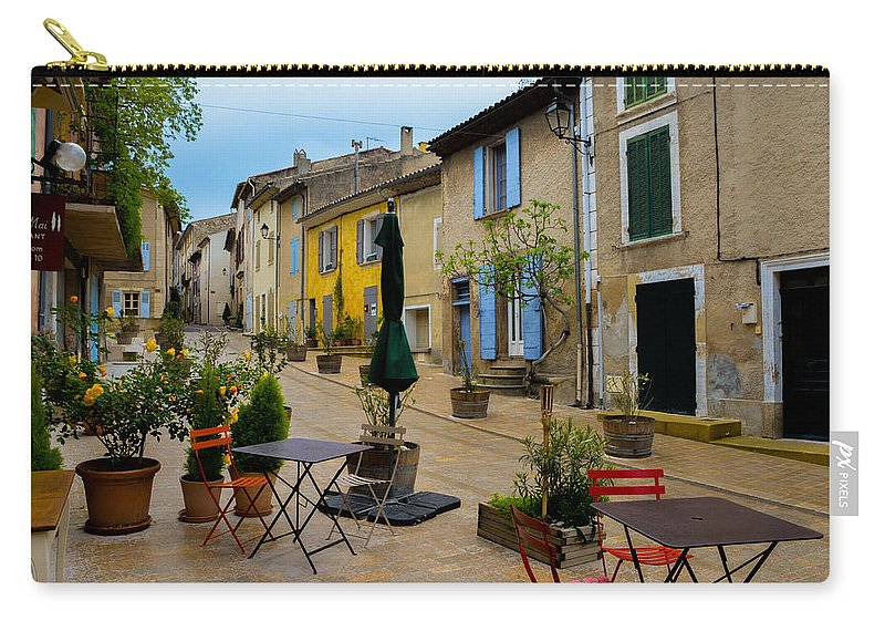 Cucuron Carry-all Pouch featuring the photograph Cucuron In Provence by Dany Lison