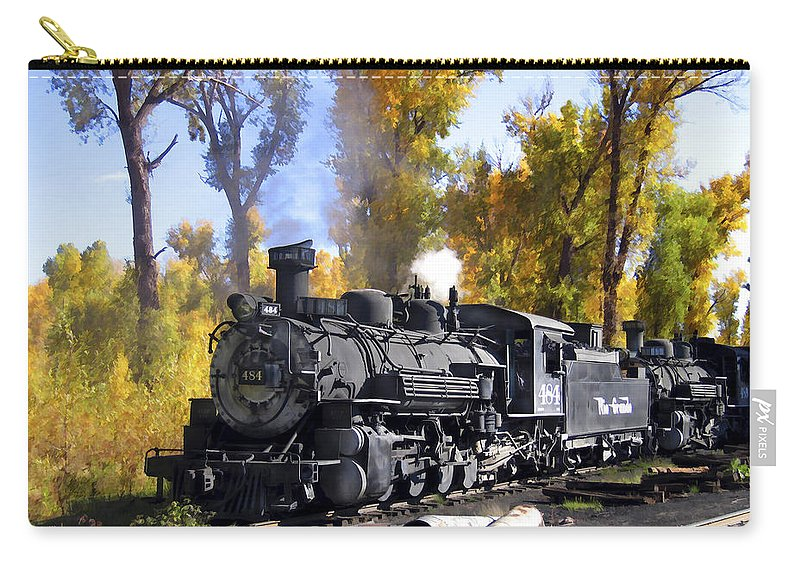 Train Carry-all Pouch featuring the photograph Cumbres And Toltec Railroad by Kurt Van Wagner