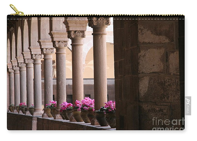 Travel Carry-all Pouch featuring the photograph Cusco Peru by Jason O Watson