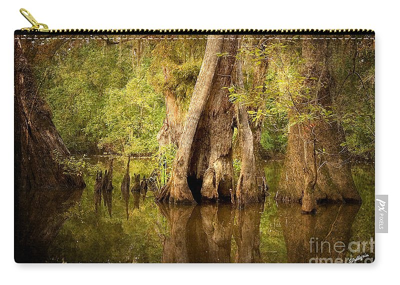 Water Carry-all Pouch featuring the photograph Cypress by Scott Pellegrin