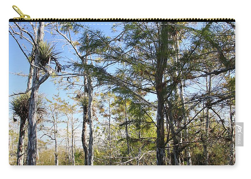 Beautiful Carry-all Pouch featuring the photograph Cypress Swamp by Rudy Umans