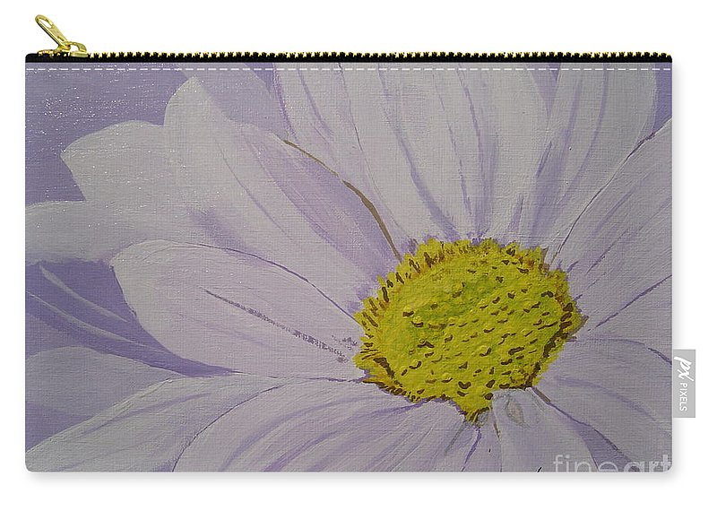 Daisy Carry-all Pouch featuring the painting Daisy by Anthony Dunphy