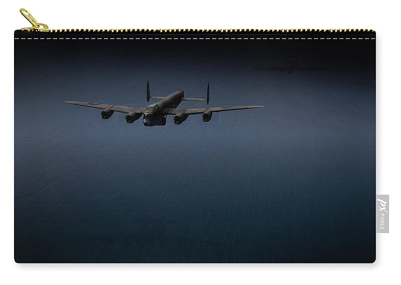 Dambusters Carry-all Pouch featuring the photograph Dambuster J-johnny by Gary Eason