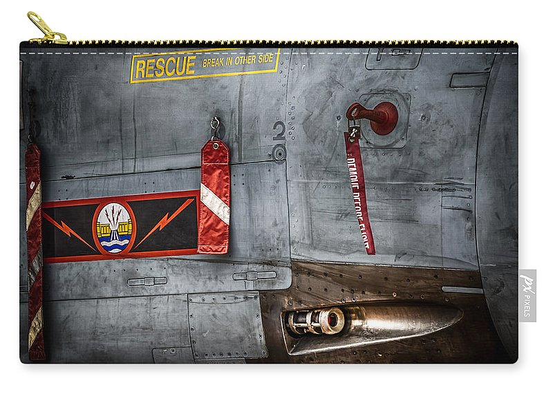 Riat Airshow Carry-all Pouch featuring the photograph Dambusters Bite by Gareth Burge Photography