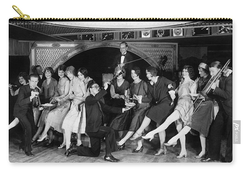 1926 Carry-all Pouch featuring the photograph Dance: Charleston, C1926 by Granger