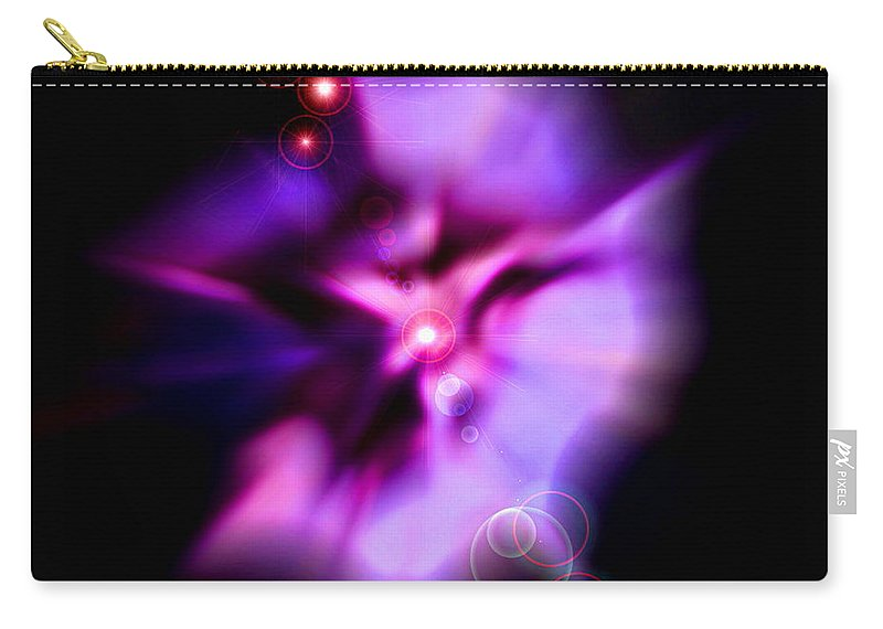 Pink Carry-all Pouch featuring the photograph Dance by Colleen Kammerer